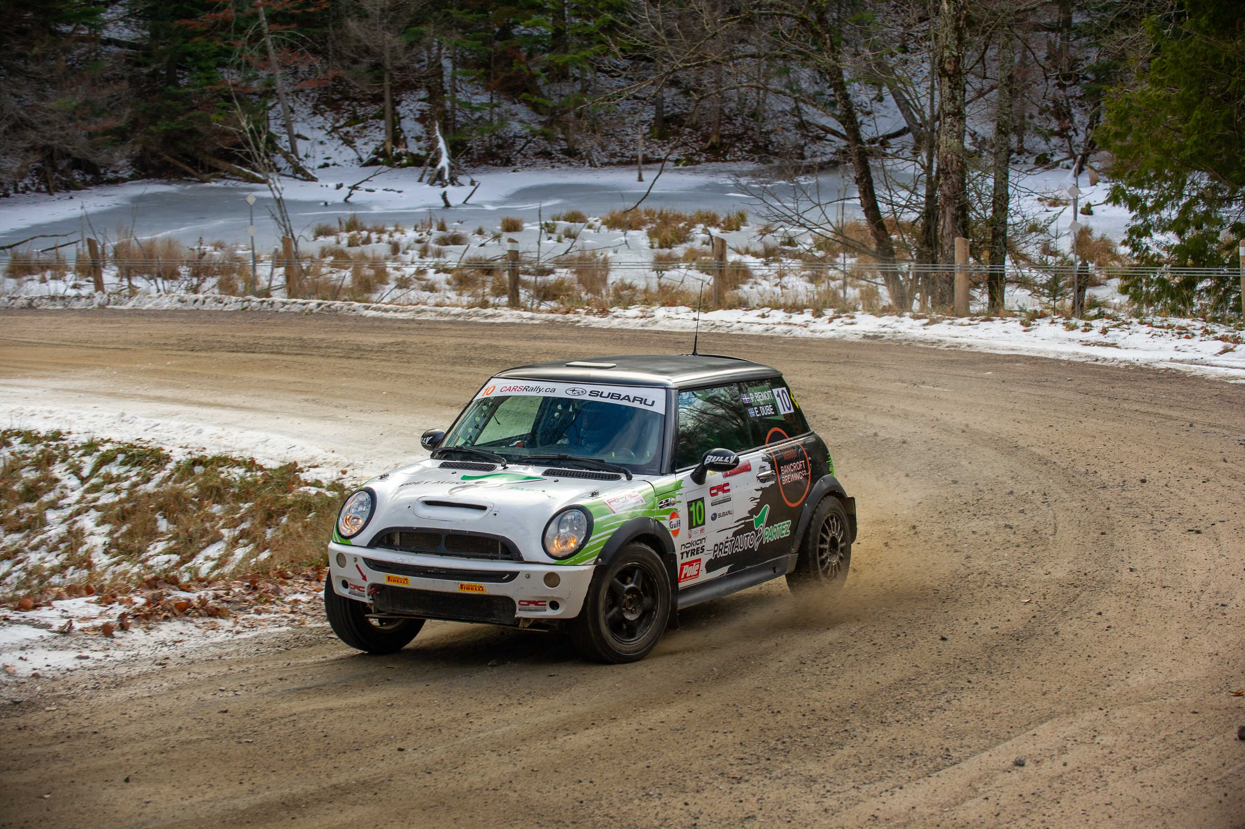 Rally fo the Tall Pines 2019 - Philippe Benoit / Éric Dubé